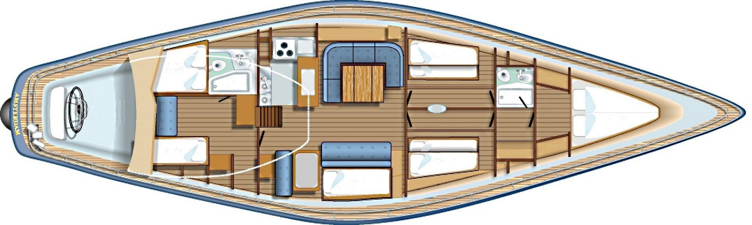 mittelmeer charter auf swan 65 swansailing yachtcharter. Black Bedroom Furniture Sets. Home Design Ideas