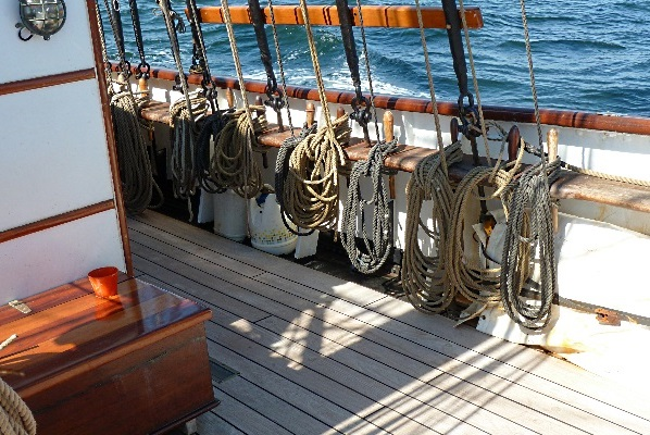 vater sohn segeln
